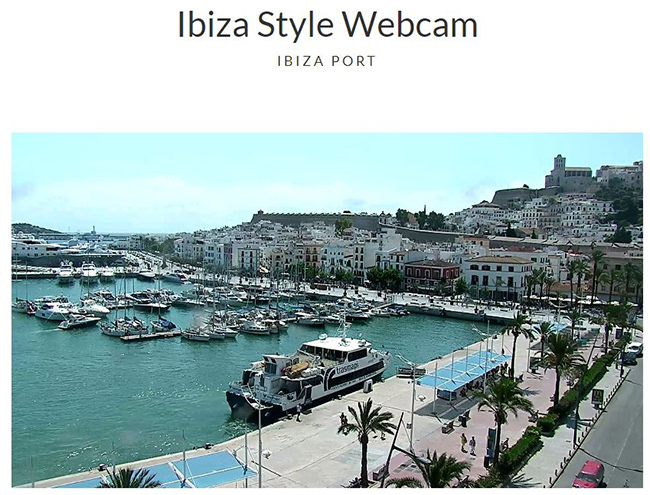 Webcam Ibiza Style Port